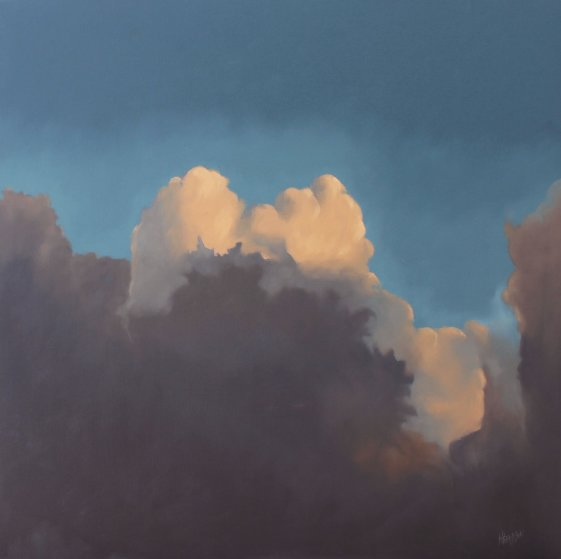 Ontario Clouds #1 36x36 Original Painting by Hugh  Thompson