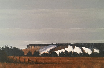 Escarpment 24x36 Original Painting - Hugh  Thompson