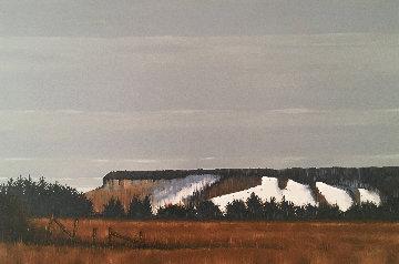 Escarpment 24x36 Original Painting by Hugh  Thompson