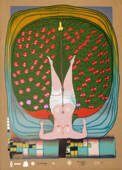 Homage to Schroder-Sonnenstern 1972 Limited Edition Print by Friedensreich S. Hundertwasser