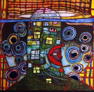 Qatar 813 Limited Edition Print by Friedensreich S. Hundertwasser