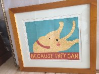 Because They Can 1997 Limited Edition Print by Stephen Huneck - 1