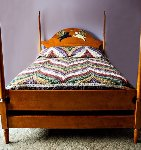 Untitled Maple Wood Bed 2008 Other - Stephen Huneck