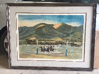 Practice Game 1974 Limited Edition Print by Peter Hurd - 5