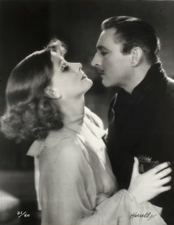 Greta Garbo And John Barrymore 1933 Limited Edition Print by George Hurrell