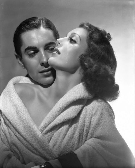 Loretta Young And Tyrone Power 1937 Limited Edition Print by George Hurrell