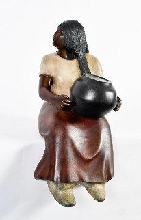 Laguna Potter Bronze Sculpture 17 in Sculpture by Doug (Sculptor) Hyde