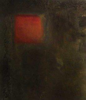 Slated 48x24 Original Painting - Nancy Iannitelli