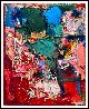 Busy Hours 3-D Mixed Media 2015 62x50 Original Painting by Costel Iarca - 1