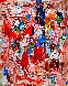 Poetic Times 3-D Mixed Media 2010 74x62  Original Painting by Costel Iarca - 2