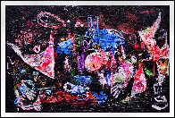 Practical World 3-D Mixed Media 2010 50x74 Huge Original Painting by Costel Iarca - 1