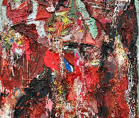 Emotions of Characters 3-D 2010 62x50 Super Huge Original Painting by Costel Iarca - 4