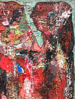Emotions of Characters 3-D 2010 62x50 Super Huge Original Painting by Costel Iarca - 5