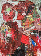 Emotions of Characters 3-D 2010 62x50 Super Huge Original Painting by Costel Iarca - 6