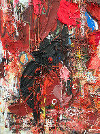 Emotions of Characters 3-D 2010 62x50 Super Huge Original Painting by Costel Iarca - 7