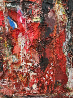 Emotions of Characters 3-D 2010 62x50 Super Huge Original Painting by Costel Iarca - 8