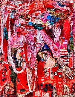 Ballerina 3-D 2010 62x50 Original Painting by Costel Iarca