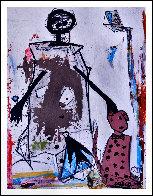 Life Long Dream 2016 86x67 Huge Original Painting by Costel Iarca - 1