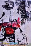 Traveling the World 2016 90x62 Original Painting - Costel Iarca