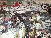 Our Identities 2017 102x81 Huge Mural Original Painting by Costel Iarca - 6
