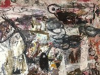 Our Identities 2017 102x81 Huge Mural Original Painting by Costel Iarca - 7