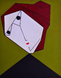 Woman Nr 1 2017 62x50 Original Painting by Costel Iarca