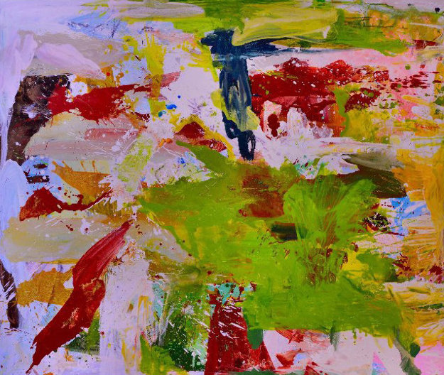 Summer Getaway 2018 62x72 Original Painting by Costel Iarca