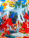 Cosmic Profile 2018 74x62 Original Painting by Costel Iarca - 0