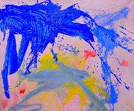 Bright Rainbow 2018 74x62 Super Huge Original Painting by Costel Iarca - 0