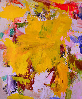 Summer Glow 2017 72x60 Original Painting by Costel Iarca