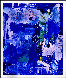 Blue Summer 2016 72x60 Original Painting by Costel Iarca - 1