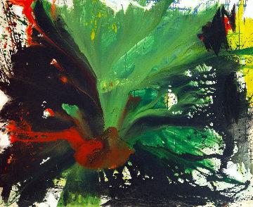 Phoenix 2016 72x60 Super Huge Original Painting - Costel Iarca