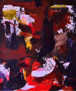 Across the World 2017 74x62 Original Painting by Costel Iarca