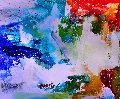 Shapeless 2017 62x74 Original Painting - Costel Iarca