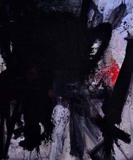 Reader's Mind 2017 72x62 Huge Original Painting - Costel Iarca