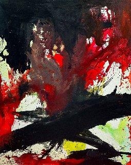 Surprise 2017 74x62  Original Painting - Costel Iarca