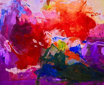 Evaluations 2017 62x74 Huge Original Painting - Costel Iarca