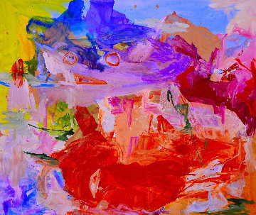 Perceptions 2017 62x74 Huge Original Painting - Costel Iarca