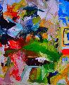 Perfect Love 2017 74x62 Original Painting - Costel Iarca