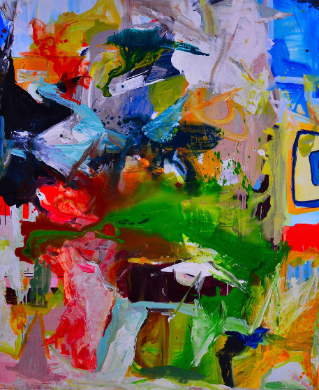 Perfect Love 2017 74x62 Original Painting by Costel Iarca