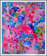 Values And Changes Number 2  2017 74x72 Huge Original Painting by Costel Iarca - 1