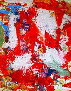 Romantic Movies 2017 62x50 Super Huge Original Painting - Costel Iarca