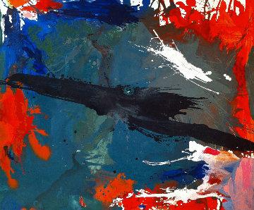 Desirable Heart 2017 62x74 Huge Original Painting - Costel Iarca