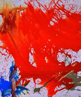 Authentic Voice 2017 64x74  Huge Original Painting - Costel Iarca
