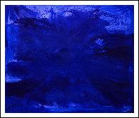 Blue Ocean 2017  62x74 Super Huge Original Painting by Costel Iarca - 1