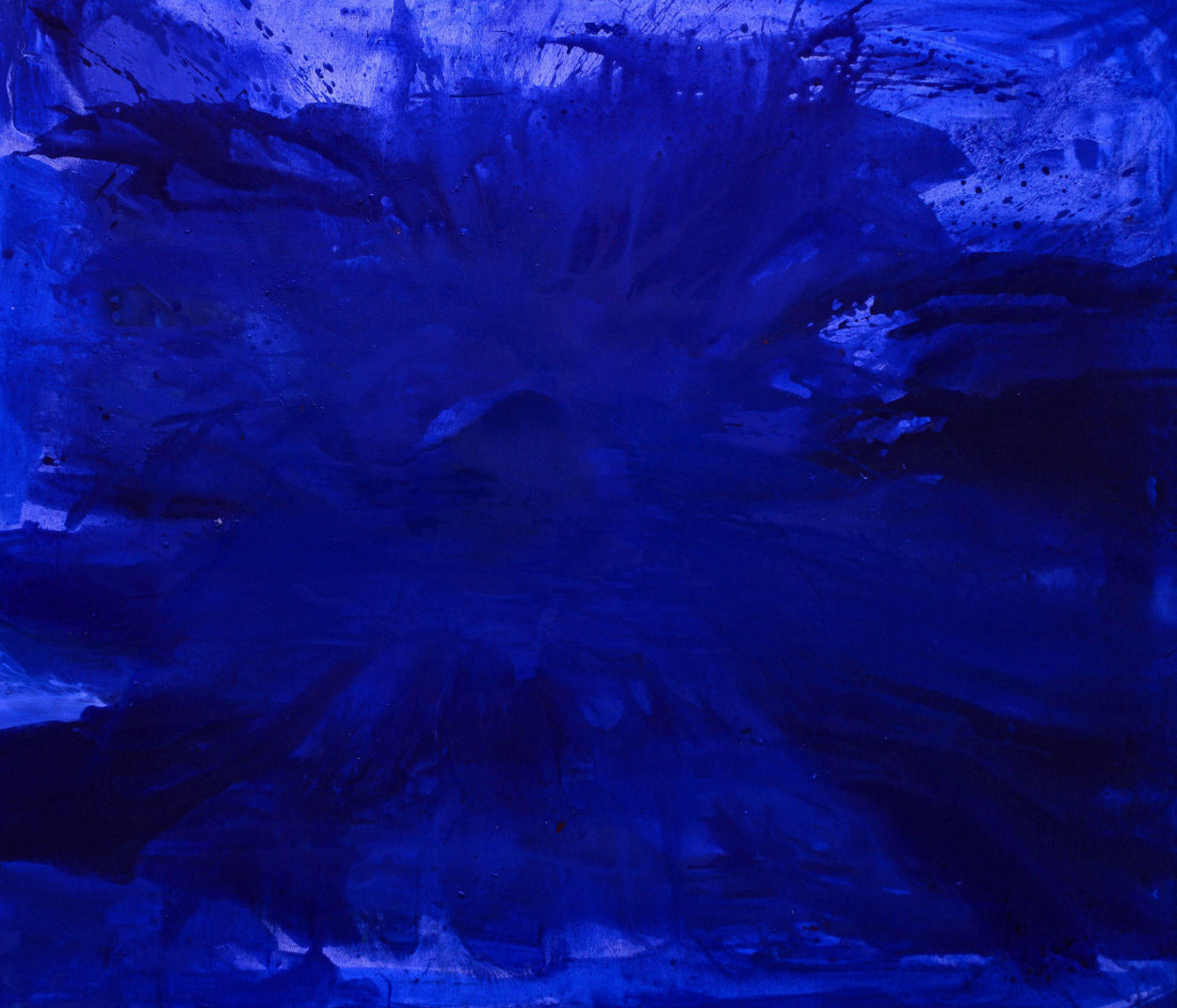 Blue Ocean 2017  62x74 Super Huge Original Painting by Costel Iarca