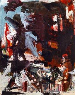 One Class Painting 2017 62x50 Huge Original Painting - Costel Iarca