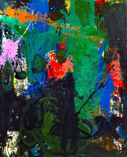 Subject to Life 2017 62x50 Huge Original Painting - Costel Iarca