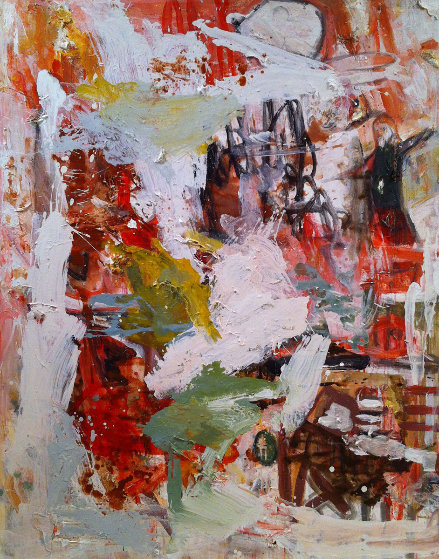 Challenges 2017 62x50 Original Painting by Costel Iarca
