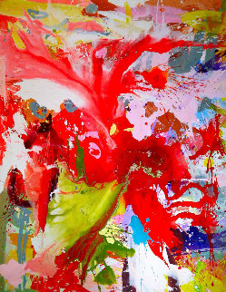 Over the Years 2017 62x48 Original Painting - Costel Iarca